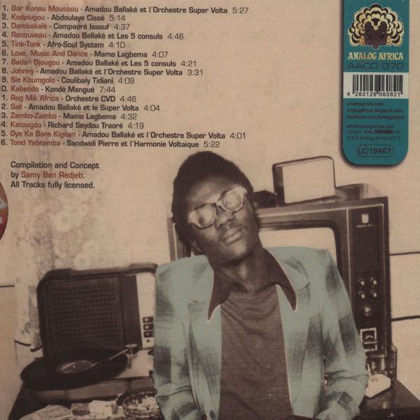 Various - Bambara Mystic Soul - The Raw Sound Of Burkina Faso 1974-1979