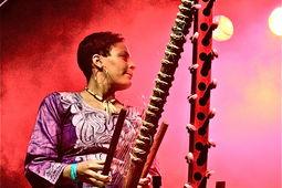 Sona Jobarteh, Kaya Festival - photo �Glyn Phillips