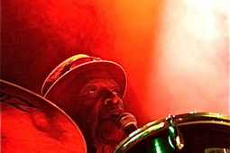 Tony Allen, Kaya Festival - photo �Glyn Phillips