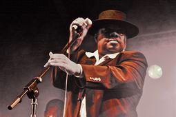 Kanda Bongo Man, Kaya Festival - photo �Glyn Phillips