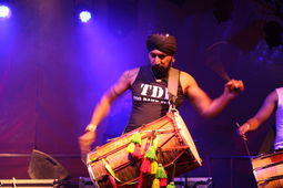 The Dhol Foundation, HOME Festival 2012 - �Glyn Phillips