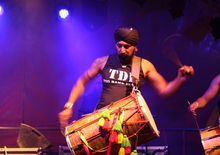 The Dhol Foundation, HOME Festival, Dartington (22/6/12) Photos