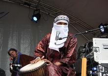 Tamikrest at HOME Festival, Dartington (25/6/11)