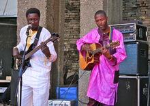 Afro Roots Fusion Band (mac, B'ham - 8/7/11)