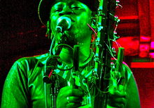Sadio Cissokho at Hare & Hounds, Birmingham (10 Nov 2011)