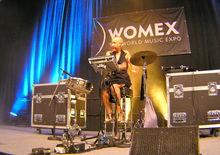 Mercedes Peon - Womex 10, Copenhagen (29/10/10)