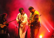 Aurelio Martinez at WOMEX 2008 Sevilla Spain