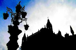 Seville Sky and Silhouettes